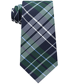 Tommy Hilfiger Men's Exploded Check Slim Tie