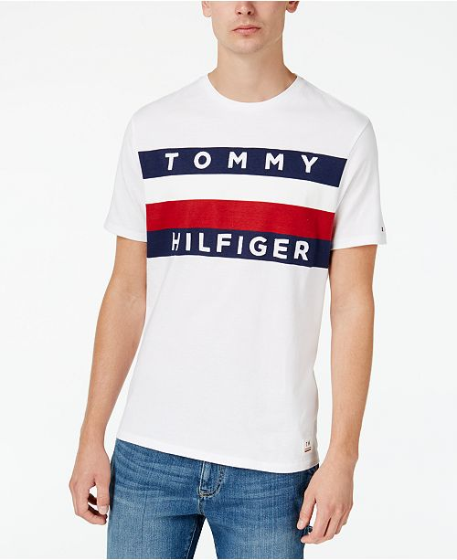 9369889b Tommy Hilfiger Men's Big & Tall Upstate Tee & Reviews - T-Shirts ...