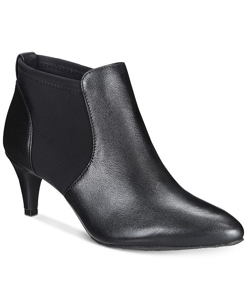 93d436adf Alfani Women's Step 'N Flex Hazzel Ankle Booties, Created for Macy's ...