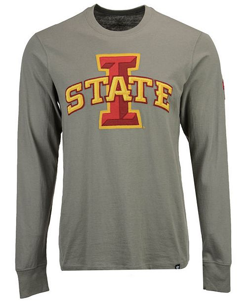 ...  47 Brand Men s Iowa State Cyclones Fieldhouse Long Sleeve T-Shirt     ... e296f974ae1e
