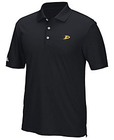 adidas Men's Anaheim Ducks Power Play Primary Polo