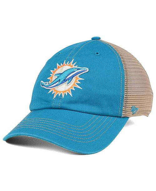 '47 Brand Miami Dolphins Trawler CLEAN UP Cap