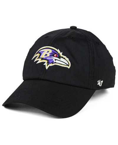 '47 Brand Baltimore Ravens Repetition Tech CLEAN UP Cap