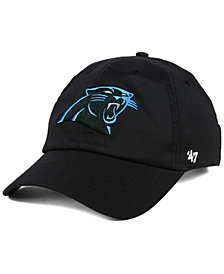 '47 Brand Carolina Panthers Repetition Tech CLEAN UP Cap