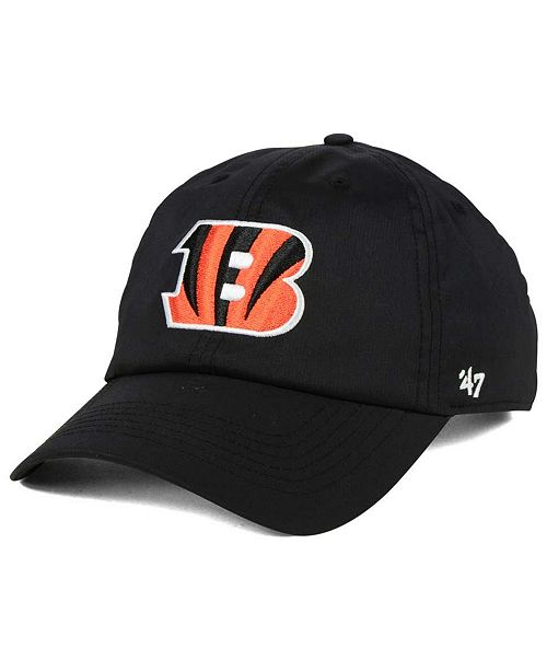 '47 Brand Cincinnati Bengals Repetition Tech CLEAN UP Cap
