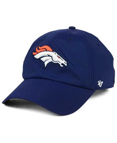 '47 Brand Denver Broncos Repetition Tech CLEAN UP Cap