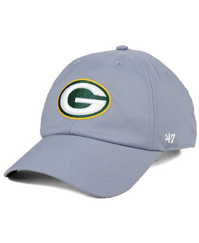 '47 Brand Green Bay Packers Repetition Tech CLEAN UP Cap