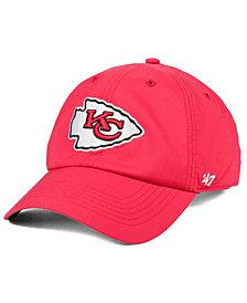 '47 Brand Kansas City Chiefs Repetition Tech CLEAN UP Cap