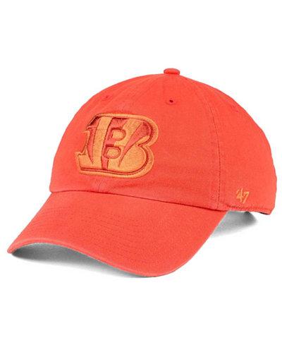 '47 Brand Cincinnati Bengals Triple Rush CLEAN UP Cap