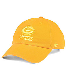 '47 Brand Green Bay Packers Triple Rush CLEAN UP Cap