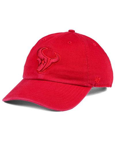 '47 Brand Houston Texans Triple Rush CLEAN UP Cap