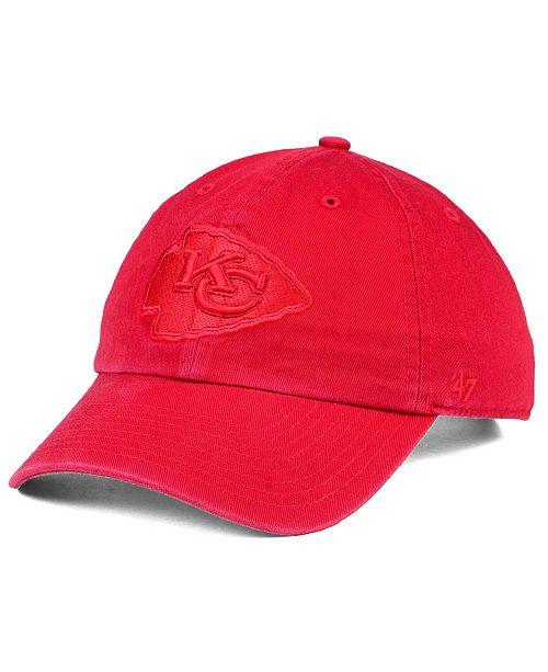 '47 Brand Kansas City Chiefs Triple Rush CLEAN UP Cap