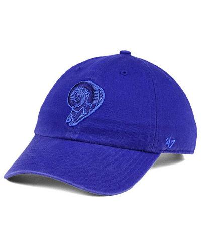 '47 Brand Los Angeles Rams Triple Rush CLEAN UP Cap