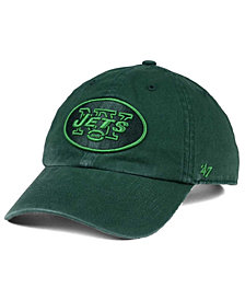 '47 Brand New York Jets Triple Rush CLEAN UP Cap