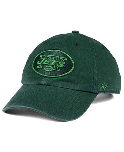 '47 Brand New York Jets Triple Rush CLEAN UP Cap