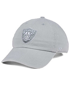 '47 Brand Oakland Raiders Triple Rush CLEAN UP Cap
