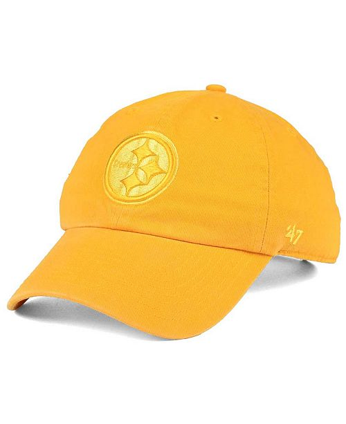 buy online f4184 06621 Pittsburgh Steelers Triple Rush CLEAN UP Cap. Be the first to Write a  Review. main image  main image ...