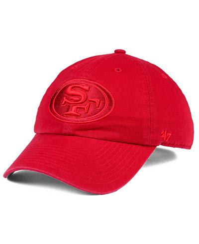 '47 Brand San Francisco 49ers Triple Rush CLEAN UP Cap
