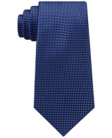 Men's Navy Micro Silk Tie
