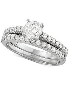 Diamond Bridal Set (1-1/4 ct. t.w.) in 14k White Gold