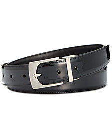 Calvin Klein Reversible Patent Leather Belt