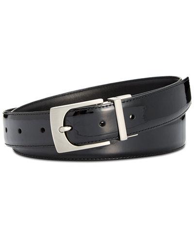 Calvin Klein Reversible Patent Leather Belt