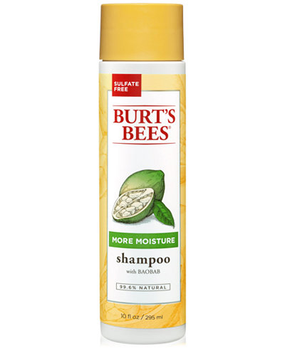 Burt's Bees More Moisture Shampoo With Baobab, 10 fl. oz.