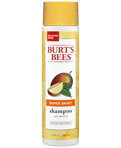 Burt's Bees Super Shiny Shampoo With Mango, 10 fl. oz.