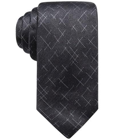 Alfani Men's Reed Dash Silk Tie, Created for Macy's