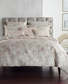 Speckle Cotton Printed Full/Queen Duvet Cover, Created for Macy's