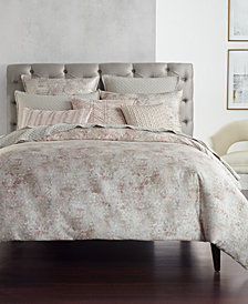 Hotel Collection Speckle Cotton Printed Twin Comforter, Created for Macy's