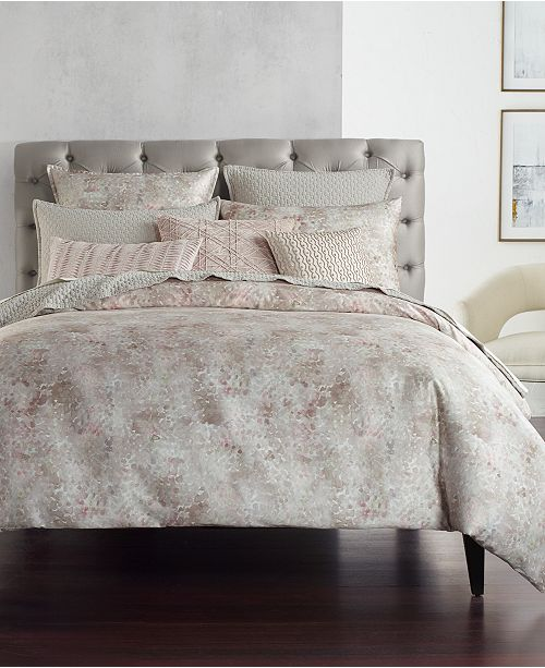 Hotel Collection Speckle Printed King Comforter, Created