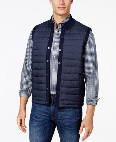Barbour Men's Essential Quilted Gilet, A Macy's Exclusive Style ... : quilted gilet - Adamdwight.com