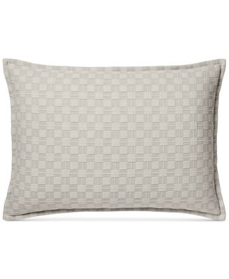 Diamond Embroidered Quilted Standard Sham
