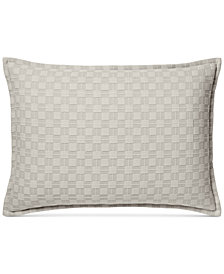 Hotel Collection Diamond Embroidered Quilted Standard Sham