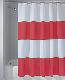 "Interdesign Zeno Stripe 72"" x 72"" Shower Curtain"