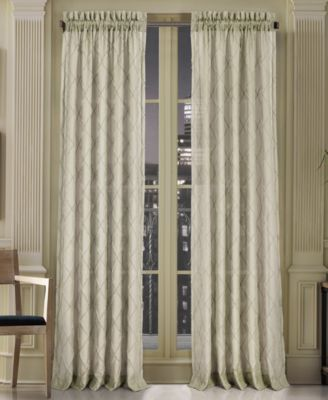 "Gemstone Sheer 50"" x 108"" Rod Pocket Curtain Panel"