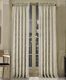 "J Queen New York Gemstone Sheer 50"" x 108"" Rod Pocket Curtain Panel"