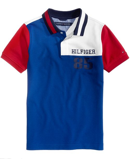 Tommy Hilfiger Myer Cotton Polo, Toddler Boys