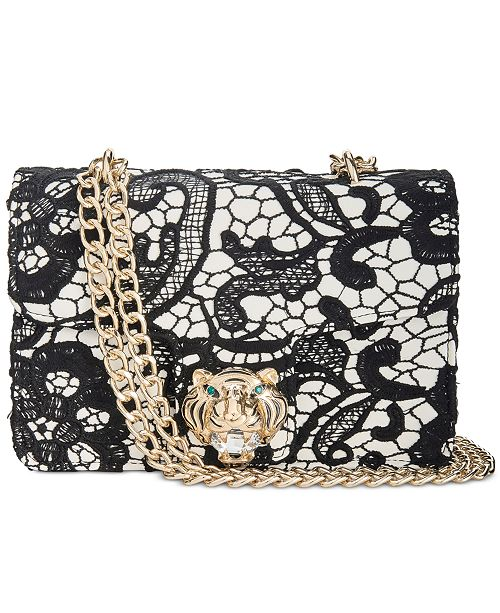 3b89755d3 Betsey Johnson Lady Lace Chain Strap Shoulder Bag & Reviews ...