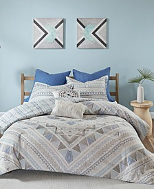 Rochelle Reversible 7-Pc. Cotton Bedding Sets
