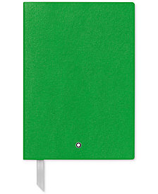Montblanc Fine Stationery Green Notebook