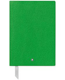 Montblanc Fine Stationery Green Notebook