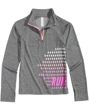 Ideology QuarterZip Run Active Jacket Big Girls (716) Created for Macys
