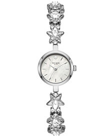 kate spade new york Women's Star Chain Stainless Steel Bracelet Watch 20mm