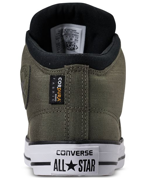 c349f02098ad ... Converse Men s Chuck Taylor All Star High Street Casual Sneakers from  Finish ...