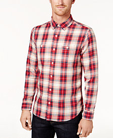 Tommy Hilfiger Men's Thomas Plaid Shirt
