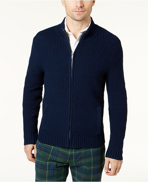 Brooks Brothers Mens Wool Full Zip Cardigan Sweaters Men Macys