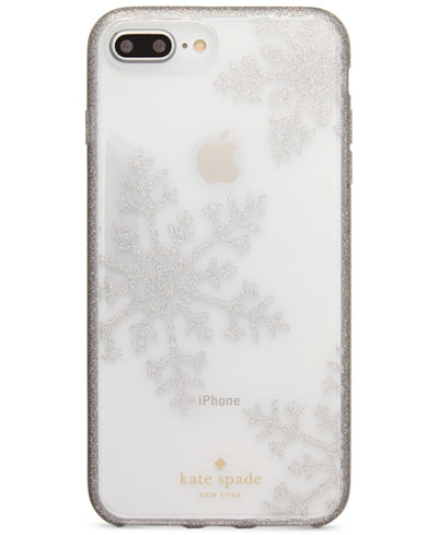 Kate Spade New York Glitter Snowflakes IPhone 8 Plus Case