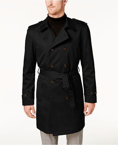 Lauren Ralph Lauren Men's Edmond Classic-Fit Belted Trench Raincoat
